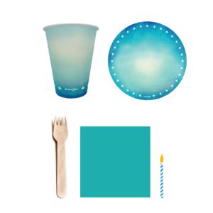 kit festa azul turquesa 1