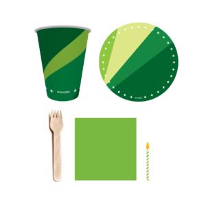 kit festa verde 1