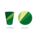 kit parabéns verde