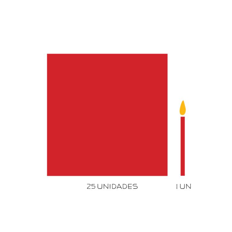 kit parabéns vermelho 1