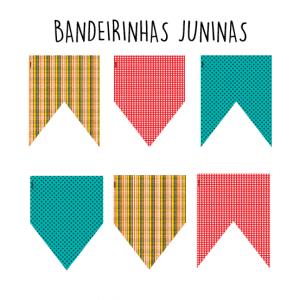 BANDEIRINHAS JUNINAS