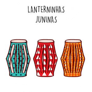 LANTERNINHAS DE PAPEL JUNINAS